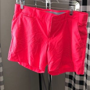 Under Armour Golf Shorts - Hot Pink